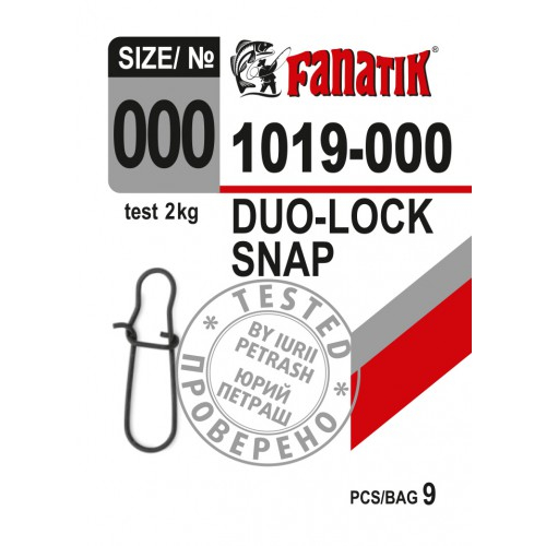 Karabiner Duo-Lock 1019 ##000, 00, 0, 1, 2 fast lock snap Wirbel Angel
