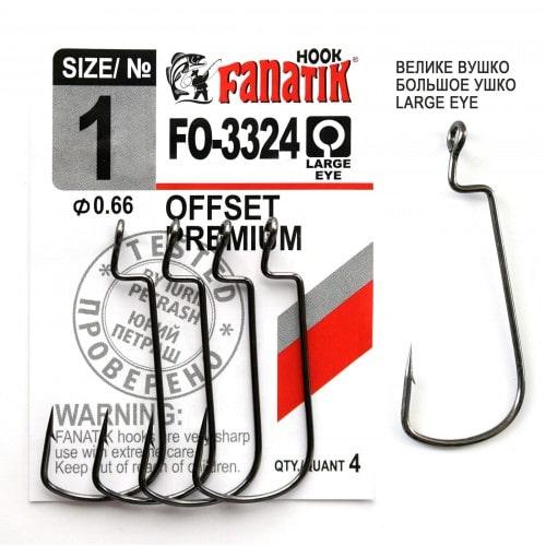 FANATIK Haken Offset Premium FO-3324