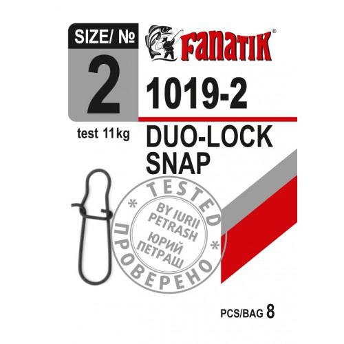 Karabiner Duo-Lock 1019 ##000, 00, 0, 1, 2 fast lock snap Wirbel Angel